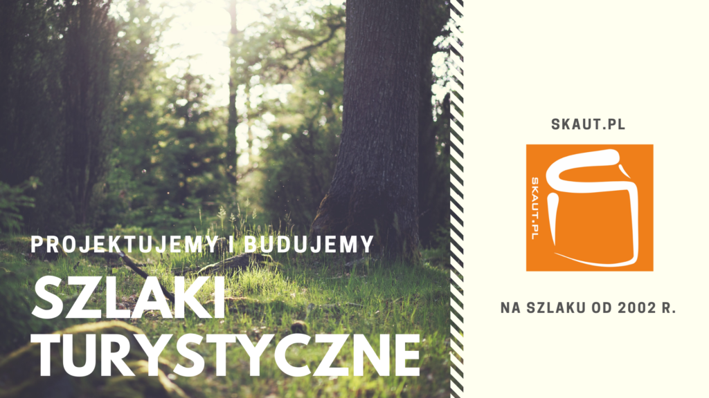 Skaut.pl - szlaki turystyczne - projekt i budowa