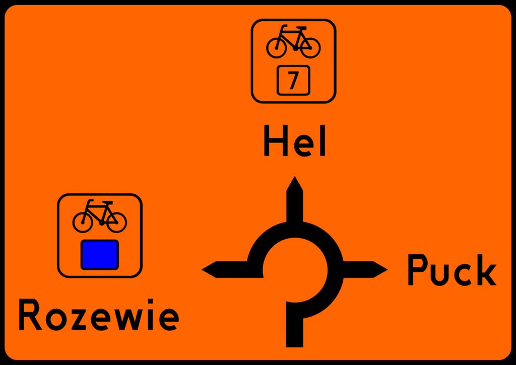 Skaut.pl - Znak szlaku rowerowego - tablica R-4e